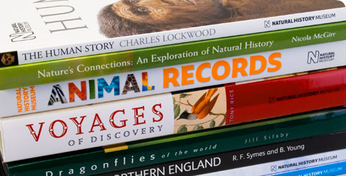A selection of recent Natural History Museum books