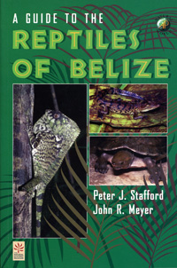 A Guide to the Reptiles of Belize cover