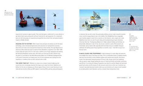 Pages from Surviving Antarctica