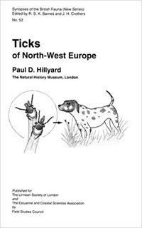 Ticks of north-west Europe cover