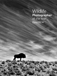 Wildlife Photographer of the Year Desk Diary 2014 cover
