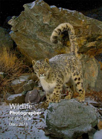 Wildlife Photographer of the Year Diary 2013 cover