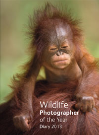 Wildlife Photographer of the Year Pocket Diary 2013 cover