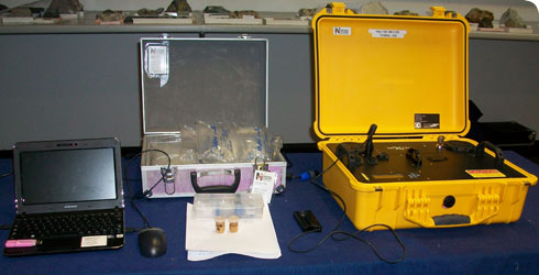 'Terra' portable X-ray diffraction instrument.