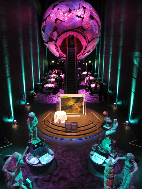 All our venues can be transformed with dramatic set designs and lighting.