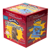 Brainbox Dinosaurs memory game
