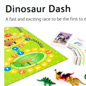 Dinosaur Dash game from The Green Board Game Company