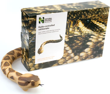 The popular remote-controlled rattlesnake toy from Wow! Stuff