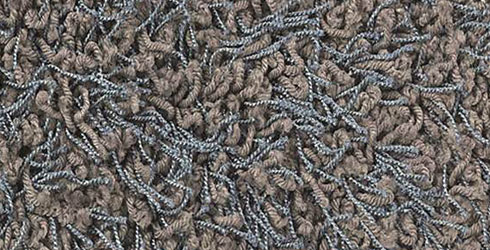 Detail of a shag-pile carpet