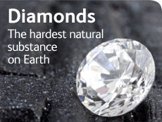 Diamonds: the hardest natural substance on Earth