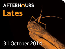 Lates events October 2014