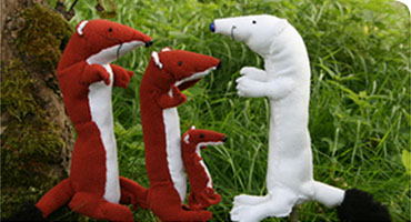 The Animal Story puppet show