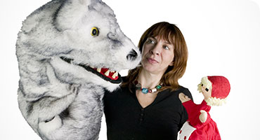 Storytelling with puppets: Wolf Tales - Little Red Riding Hood