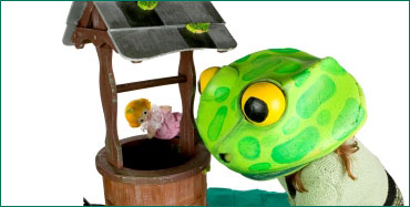 Puppets - Hungry Caterpillar and Frog Prince