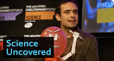 Hall of FameLab: Science Uncovered