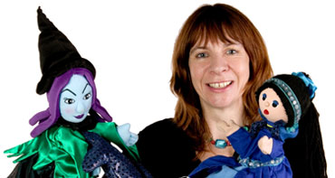 Storytelling with puppets: The Little Mermaid and Other Fishy Tales