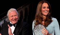 Museum Patron HRH the Duchess of Cambridge and Sir David Attenborough presented awards to winners of the 50th Wildlife Photographer of the Year competition.