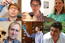 Read profiles of Museum scientists