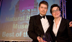We won Best of the Best at the Museums and Heritage Awards 2013!