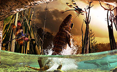 See strange and intriguing prehistoric creatures from the past 365 million years in our palaeoart slideshow.