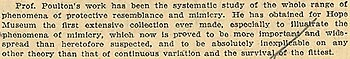 Science in 1907 newspaper article (extract)