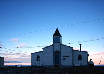 Chapel of the snows © Antarctic Heritage Trust