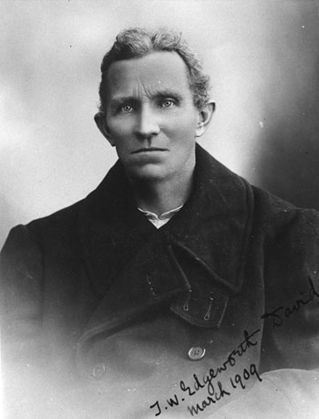 T W Edgeworth David, a member of Sir Ernest Shackleton's British Antarctic Expedition, 1907-09 © Canterbury Museum, Christchurch, NZ