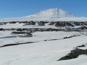 Captain Scott's base at Cape Evans where the Ross Sea Party based themselves © Antarctic Heritage Trust