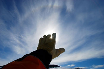 Saying goodbye to the sun © Antarctica New Zealand, Steven Sun