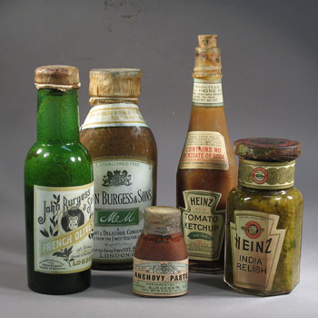 Conserved food from Scott's hut at Cape Evans © Antarctic Heritage  Trust