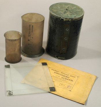 Objects from Ponting's darkroom © Antarctic Heritage Trust