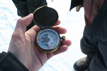 Shackleton's original compass © Antarctic Heritage  Trust