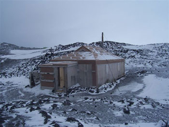 Shackleton's hut © Antarctic Heritage  Trust