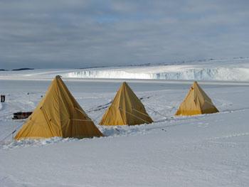 Camping in Antarctica © Antarctic Heritage Trust