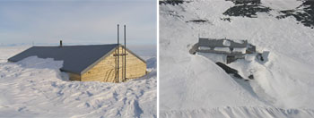 The Terra Nova hut © Antarctic Heritage Trust