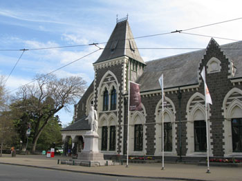 Canterbury Museum, Christchurch, New Zealand © Antarctic Heritage Trust