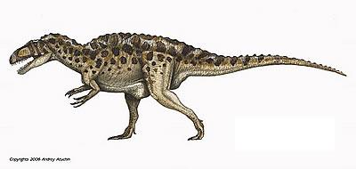 Acrocanthosaurus milieu