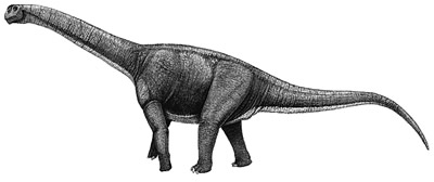 An artist's impression of Aragosaurus