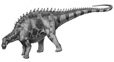 An artist's impression of Brachytrachelopan
