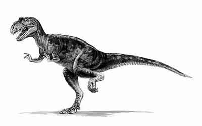 An artist's impression of Eustreptospondylus