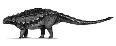 An artist's impression of Gobisaurus