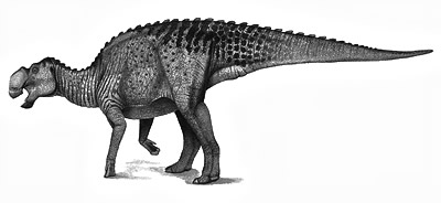 An artist's impression of Gryposaurus