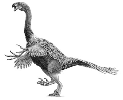 An artist's impression of Nothronychus