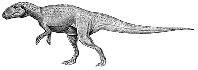 An artist's impression of Sinraptor