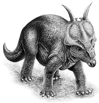 An artist's impression of Achelousaurus
