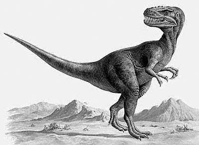 An artist's impression of Alectrosaurus