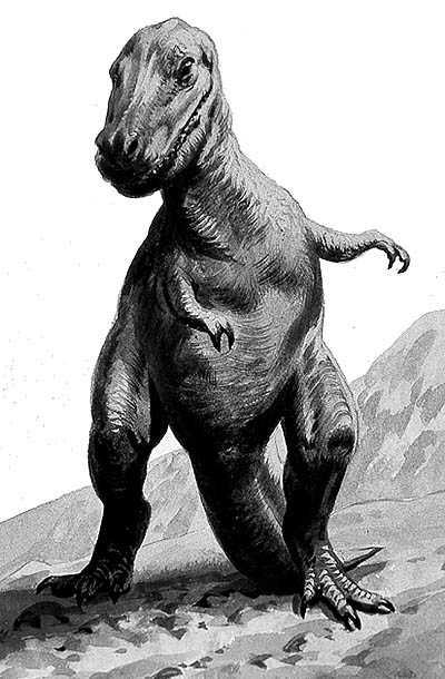 An artist's impression of Daspletosaurus