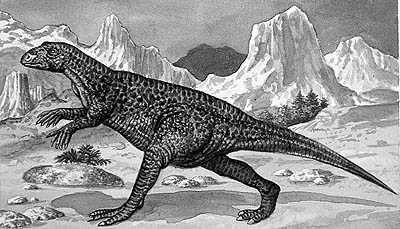 An artist's impression of Dryosaurus