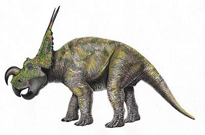 Einiosaurus milieu