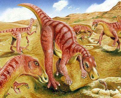 Gilmoreosaurus milieu